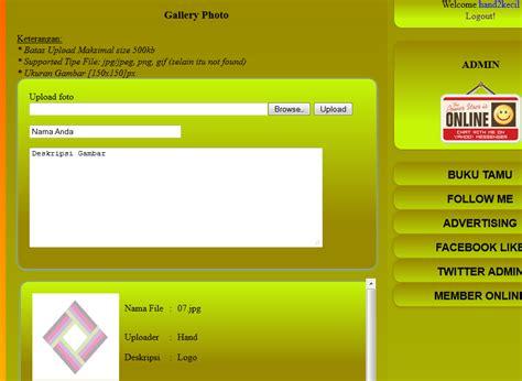 membuat form upload foto dengan php php membuat form uploader foto info knowledge