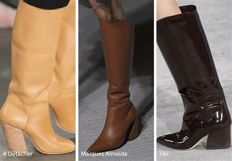 Fall Shoe Trends by Fall Winter 2018 2019 Shoe Trends Fall 2018 Runway