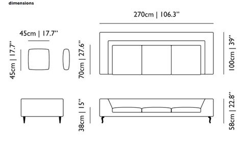 sofa dimensions the 21 inspiring dimensions of a couch homes alternative