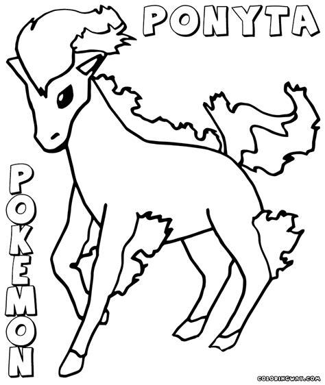pokemon coloring pages horsea pokemon ponyta coloring pages images pokemon images