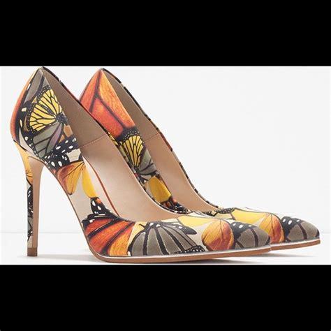 Zara Butterfly 33 zara shoes zara butterfly garden leather court