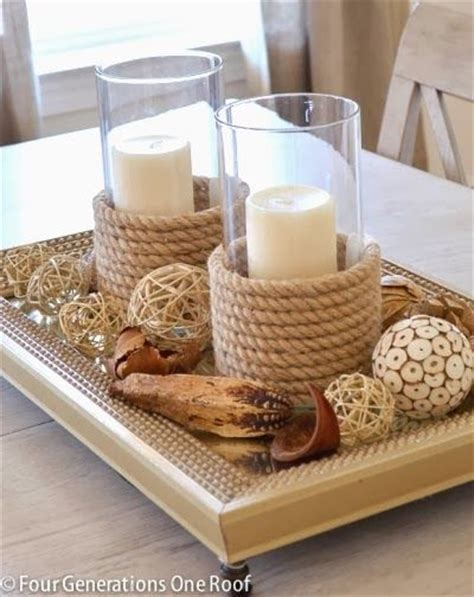 rope candle holders for summer 25 amazing diy nautical decorations for your home