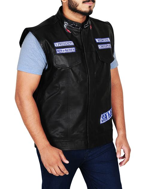 Sons Of Anarchy Motorrad by Jax Sons Teller Anarchy Motorcycle Leather Vest