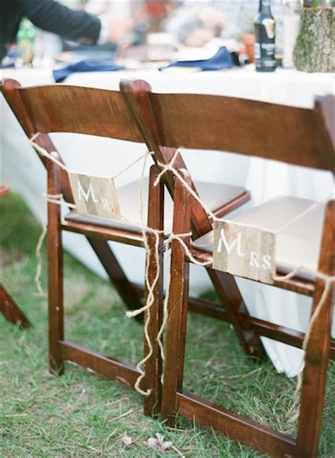 Wooden Wedding Chairs by Yard Sale Finds For Your Wedding