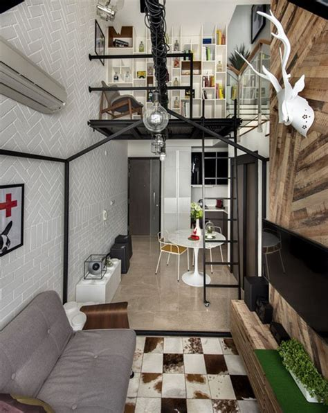 Small Home Design Singapore Small Loft Interior Design In Singapore