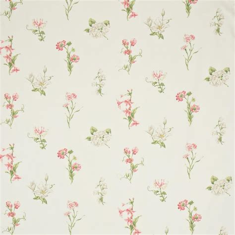 country fabric country flowers fabric ivory pink dpemco203