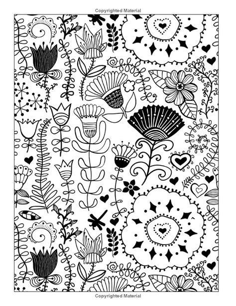 whimsical designs coloring pages whimsical flowers floral designs and patterns coloring