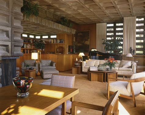 The Wright Interiors by Frank Lloyd Wright Architecture Of The Interior Grand