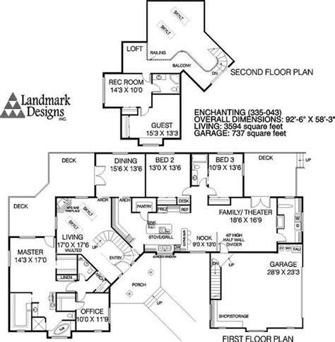 transitional floor plans transitional house plans