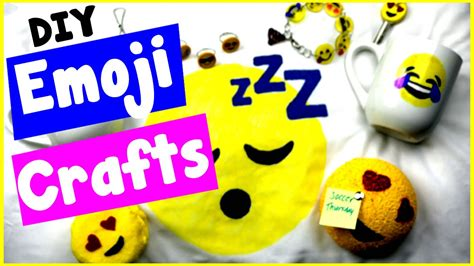 cool craft ideas diy emoji craft ideas 10 cool diy project tutorials