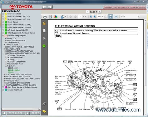 online car repair manuals free 1995 toyota previa auto manual toyota previa tarago repair manuals download wiring diagram electronic parts catalog epc