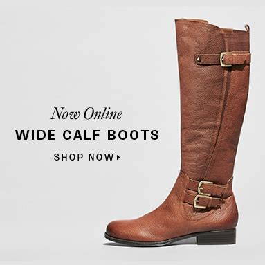 comfortable wide calf boots comfortable shoes naturalizer hush puppies more