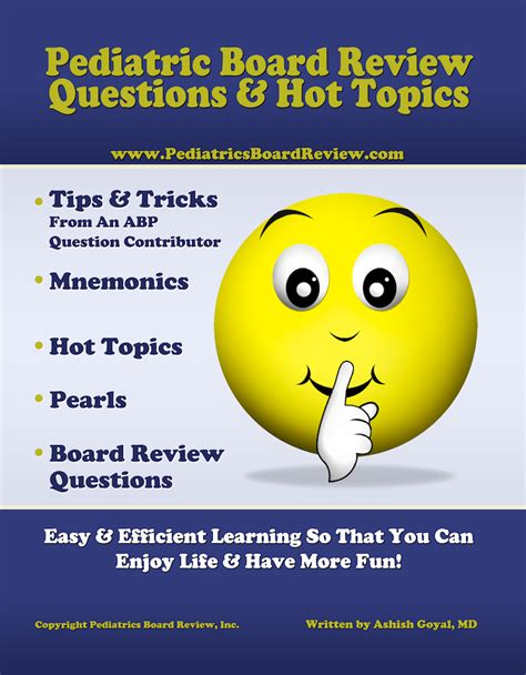 pediatric board review with free pediatric board review questions and mnemonics