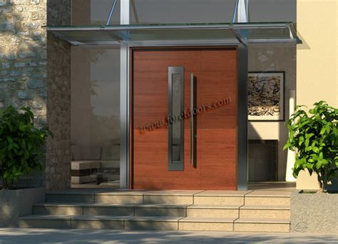 Modern Contemporary Front Doors Gallery Of Contemporary Modern Wood Front Entry Doors By Foret Doors Modern Front Doors