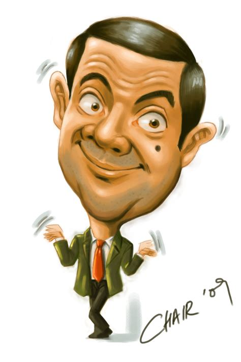 Caricature Drawers by Caricatures Mr Bean Caricature By Chairgoh On