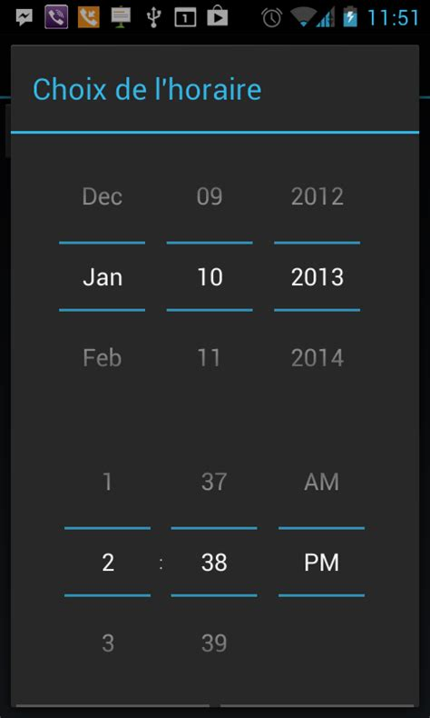 timepicker android android date and time picker dialog stack overflow