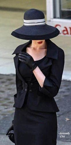ann hathaway  proper funeral attire fashion style