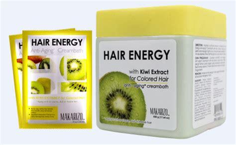 Harga Makarizo Hair Energy Creambath cara merawat rambut rusak dengan creambath bahan alami