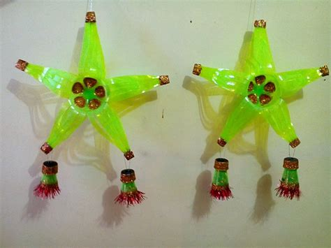 diy 24 christmas lantern parol made of recycled plastic