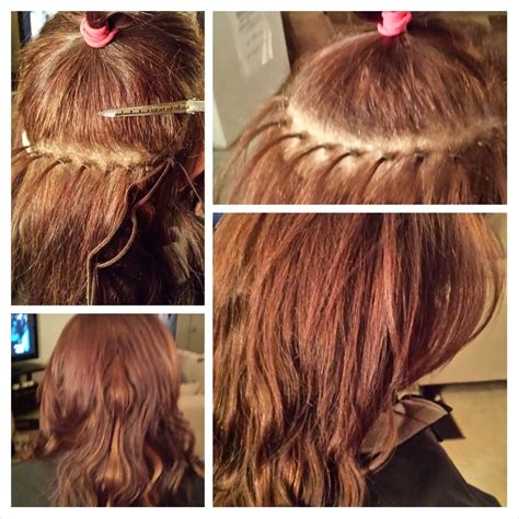 what hair is used for braidless sew in malaysian braidless sew in with micro links yelp