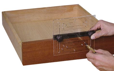 drawer pull template workshop supply