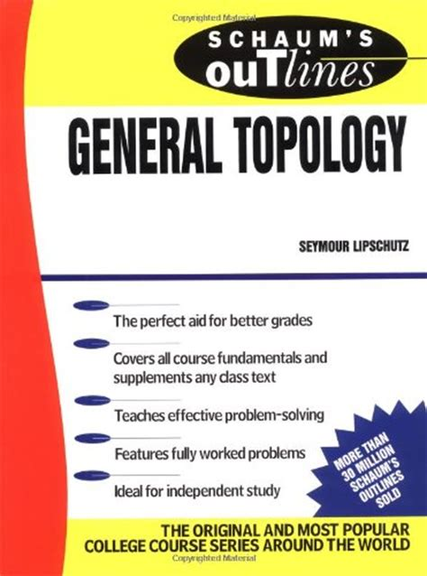 libro schaums outline of spanish schaum s outline of general topology p 250 blico libros