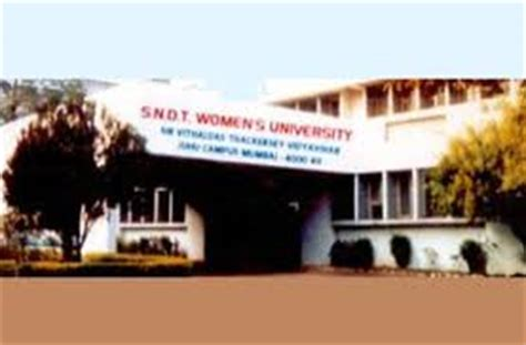 Sndt College For Mba by Sndt S Admissions 2018 19 Courses