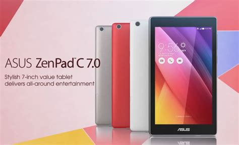 Tablet Asus C7 asus zenpad c 7 0 tablet debuts in russia priced below