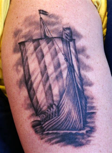 viking longship tattoo design viking ideas and viking designs