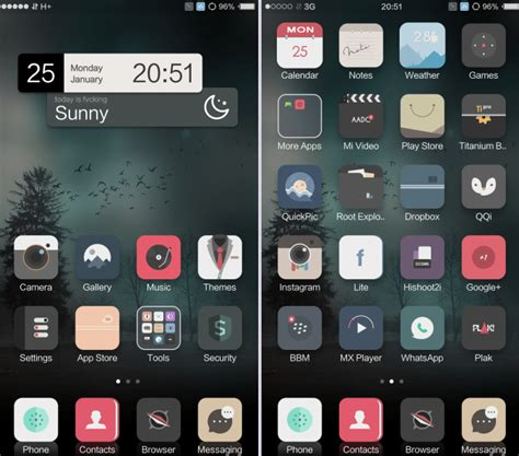 themes miui 7 download the new miui nagasari theme is stunning download links
