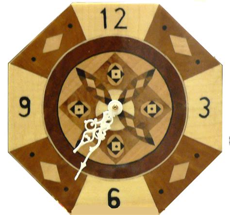 Wall Clocks Leeds Marquetry Group