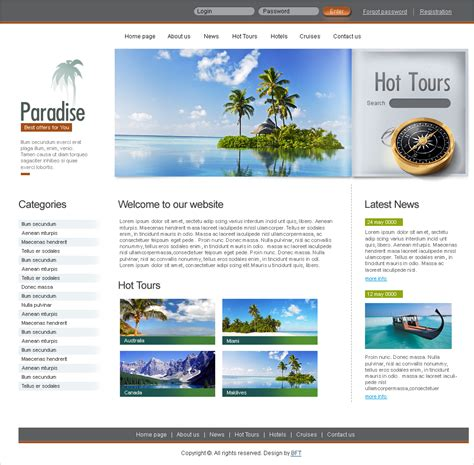 15 Best Free Travel Templates And Themes Free Travel Agency Website Templates