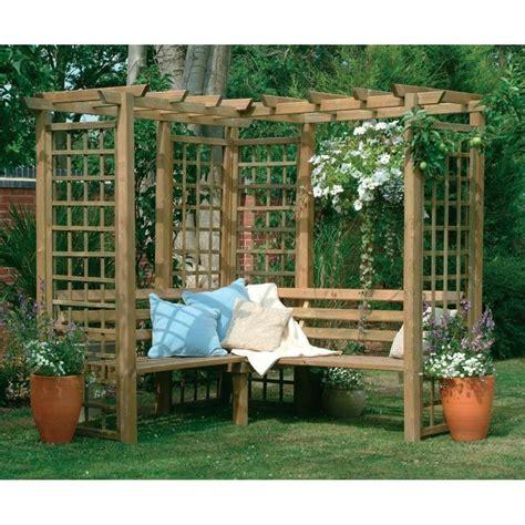 outdoor corner bench seating 25 best ideas about lattice garden on pinterest