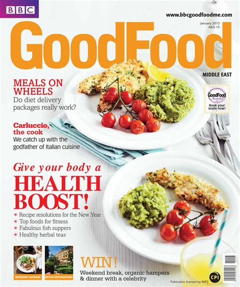 Schoffro Cook Easy Weekend Detox by Food Middle East Magazine January 2013 By