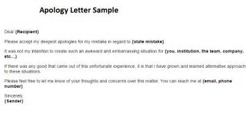 Draft Apology Letter To Apology Letter Writing Professional Letters