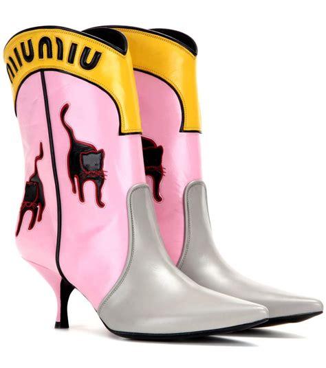 Miu Miu Motif how to style cowboy boots for laiamagazine