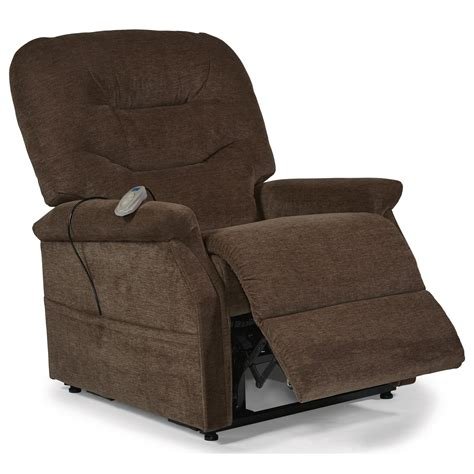 Lift Recliner Chairs by Flexsteel Latitudes Lift Chairs Hudson Three Way Power