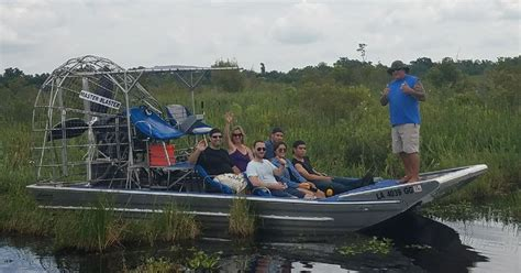 airboat speed new orleans high speed 6 9 passenger airboat