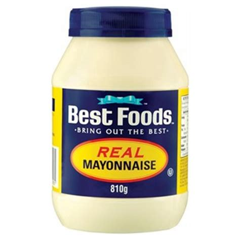 best food buy best foods mayonnaise real 810g at countdown co nz