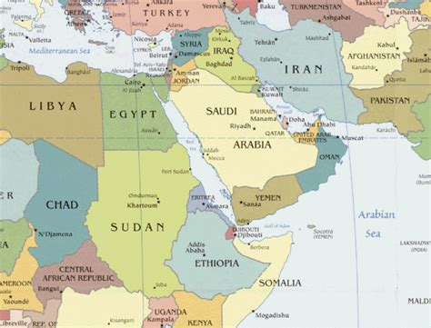 kuwait map in world kuwait map world