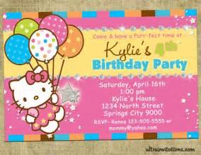 personalized hello birthday invitations eysachsephoto