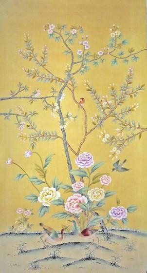 define chinoiserie chinese hand painted wallpaper chinoiserie 36 4839197