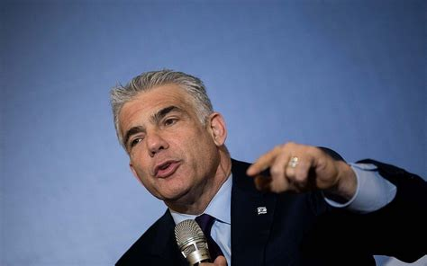 united states of israel has sacrificed sovereignty over lapid asks us lawmakers to recognize israeli sovereignty