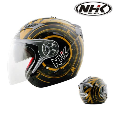 Helm Nhk Gladiator Solid Visor Half helm nhk gladiator compas pabrikhelm jual helm murah