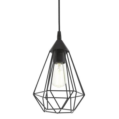 black cage pendant light eglo 94187 tarbes black cage breakfast bar pendant light