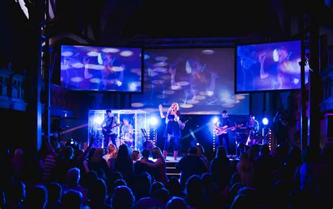 Church Stage Lighting by Projection And Lights Church Stage Design Ideas