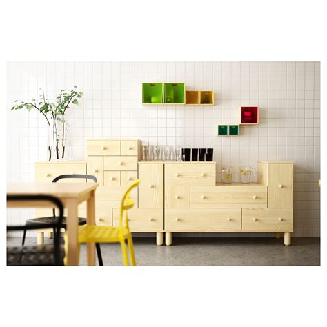 Ikea Bedroom Drawers Pine Ikea Ps 2012 Add On Chest Of 6 Drawers Pine 52x48x48 Cm Ikea