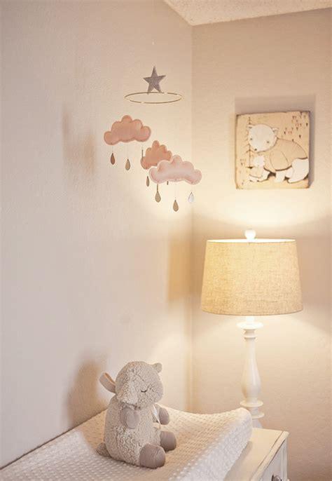 cloud baby room clouds crib mobile vintage nursery glidden smooth kelli murray