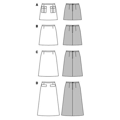 Expedition E 6682 L Bwrgbw jupe burda 6682 patron de couture jupe tissus net