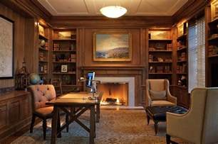 Home Office Library by Beautiful Office Decor Decosee Com